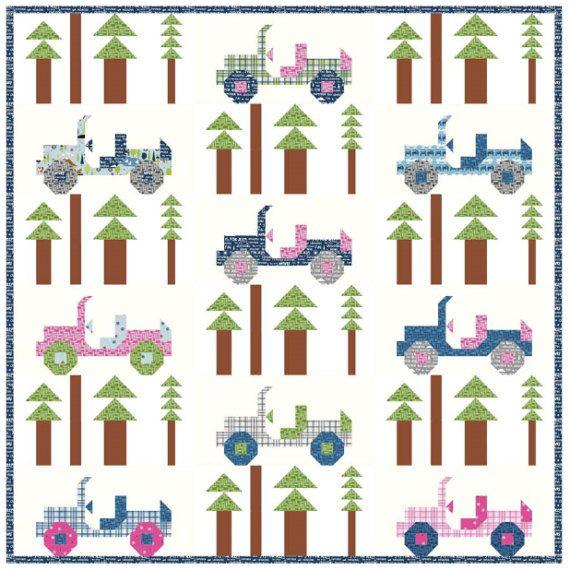 Jeep Quilt Pattern