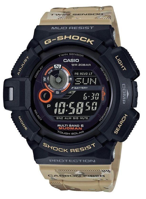 CASIO G Shock GW 9300DC 1JF Master In Desert Camouflage Mudman ... c7956aa665