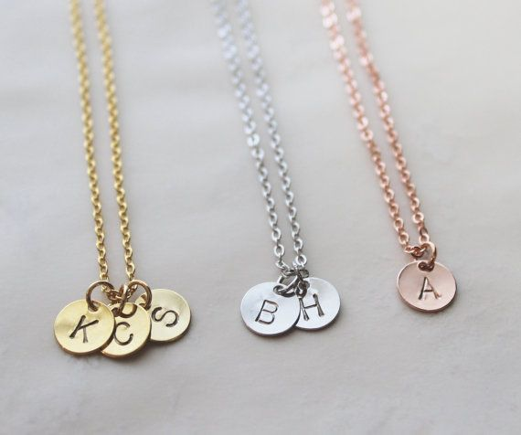 Delicate initial necklace gold letter necklace rose gold initial delicate initial necklace gold letter necklace rose gold initial bridesmaid gift silver aloadofball