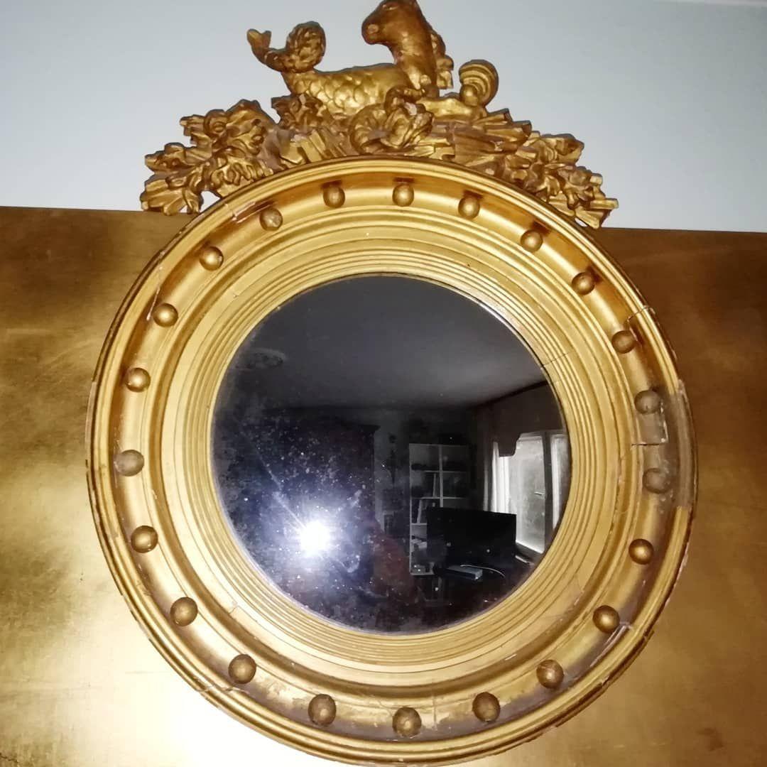 Gold Vergoldet Gilded English Mirror Mirror Instagram English