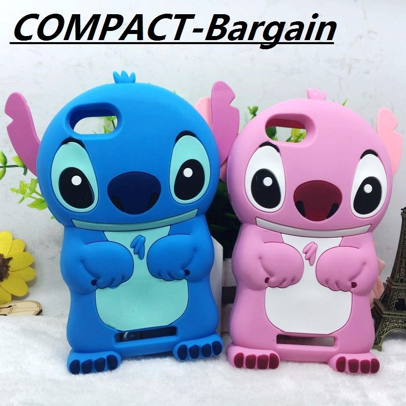 nice 3D Cartoon Stitch Soft Silicone Case For Wiko Jerry