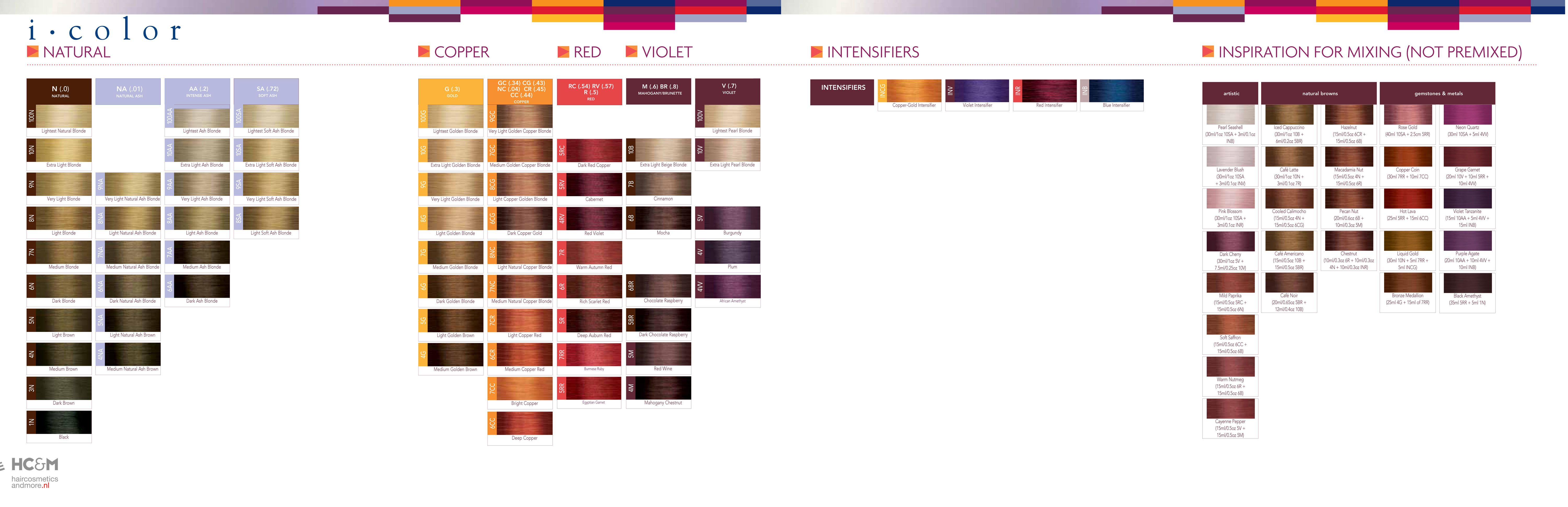 Iso I Color Swatch Chart Guy Tang Pinterest Swatch Hair