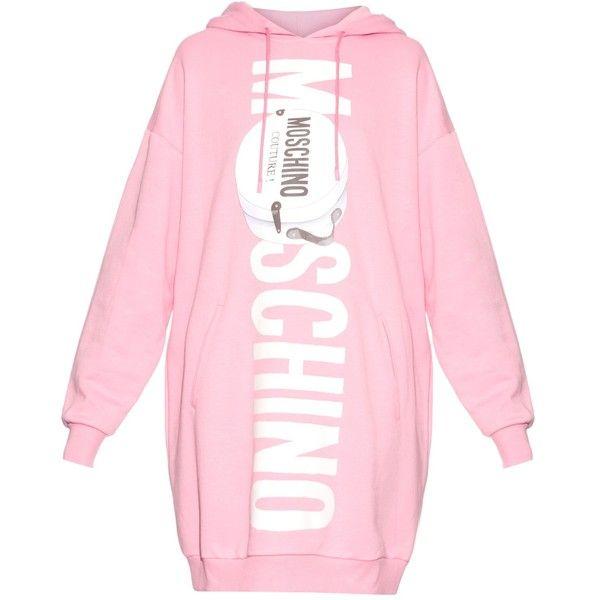 Moschino Oversized hoodie with logo print