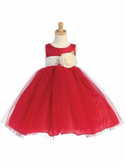 Our newly-arrived poofy tutu dress is a delight to wear for Christmas pictures, weddings, birthdays, and more. Dress comes in 7 colors. Choose from 19 different sash colors.