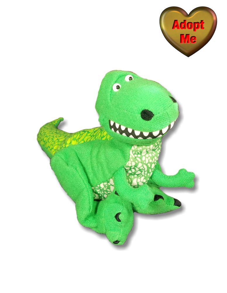 Burger King Toy Story Rex Plush Hand Puppet