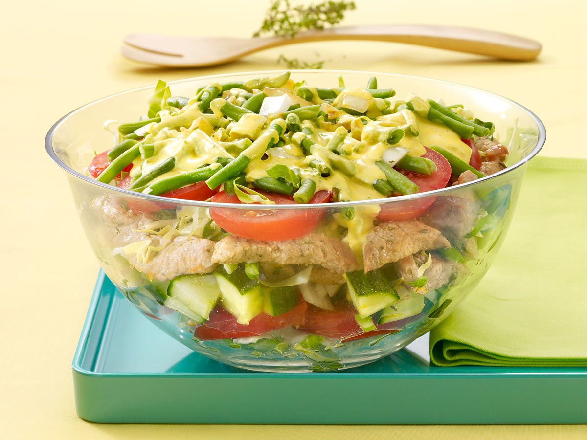 schichtsalat rezepte und tipps pinterest schichtsalat lecker und salat. Black Bedroom Furniture Sets. Home Design Ideas