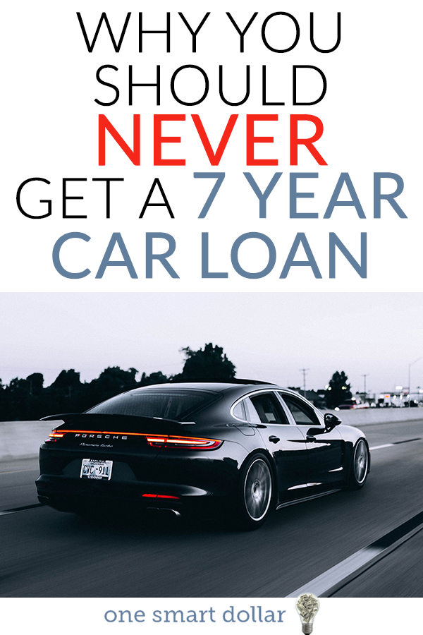 How A 7 Year Auto Loan May Put You Underwater Car Loans Car