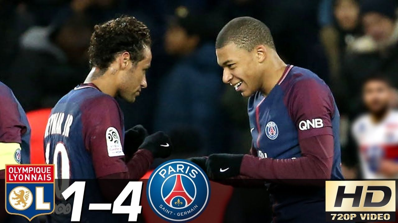 Lyon Vs Paris Saint Germain 1 4 All Goals Highlights Resume