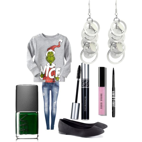 """The Grinch"" by sierragomes on Polyvore"
