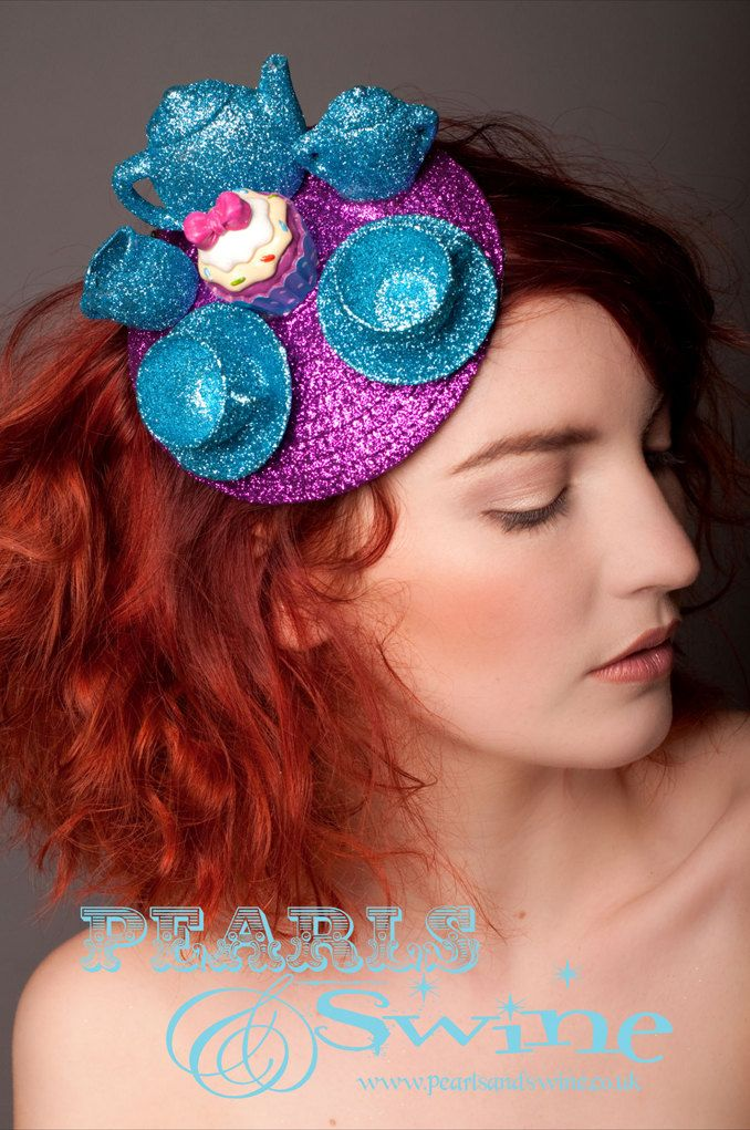 Mad Hatter s Tea Party Fascinator...  8b460664bf7