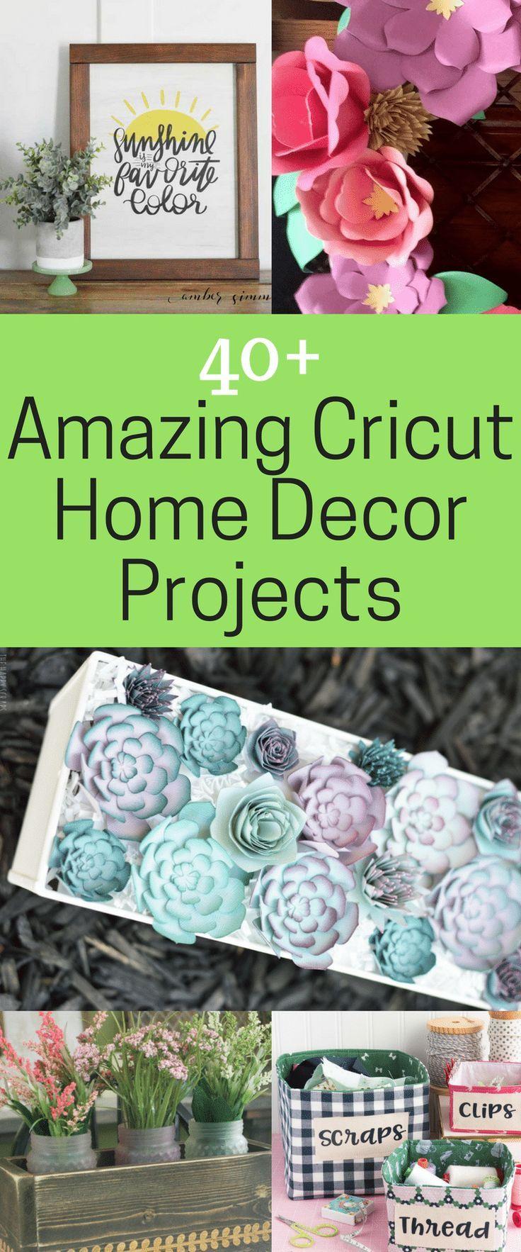 The BEST Cricut Home Decor Projects | Pinterest | Comidas saludables ...