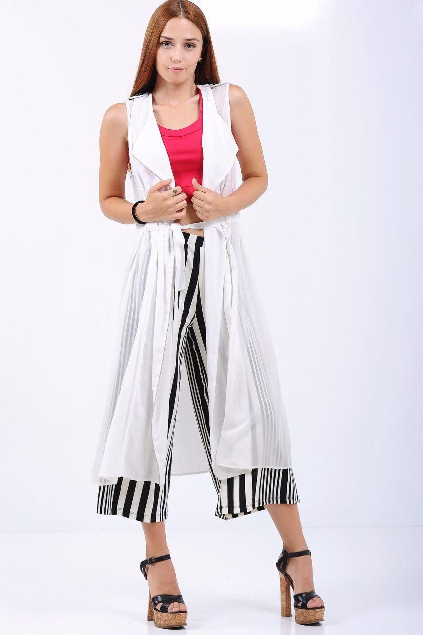 Fermuarli Uzun Tul Beyaz Yelek Giyim Indirim Kampanya Bayan Erkek Bluz Gomlek Trenckot Hirka Etek Yelek Mont Kase Kaban Giyim Moda Stilleri Moda