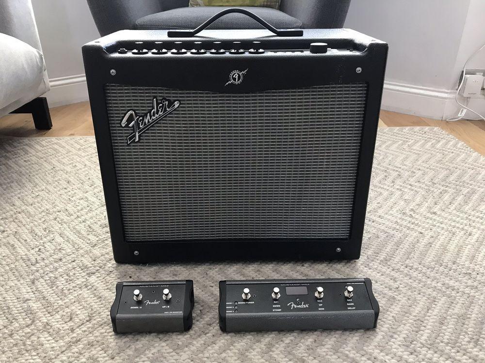 Fender Mustang 1 V2 >> Fender Mustang 3 Iii V2 100w 4 Button Footswitch Fender Amp