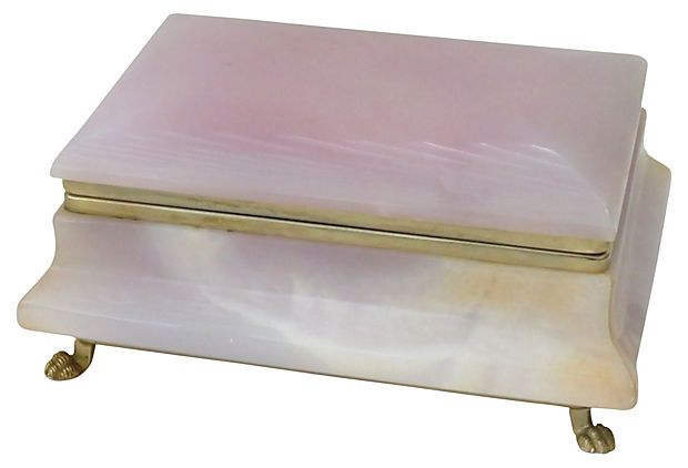 Rose Quartz Jewelry Box On Onekingslane Com Luxury Furniture Design Luxury Furniture Rose Quartz Jewelry