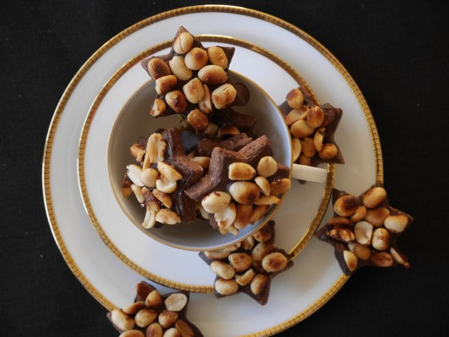 Plätzchen Erdnuss einfach Rezept Weihnachten Christmas Cookies