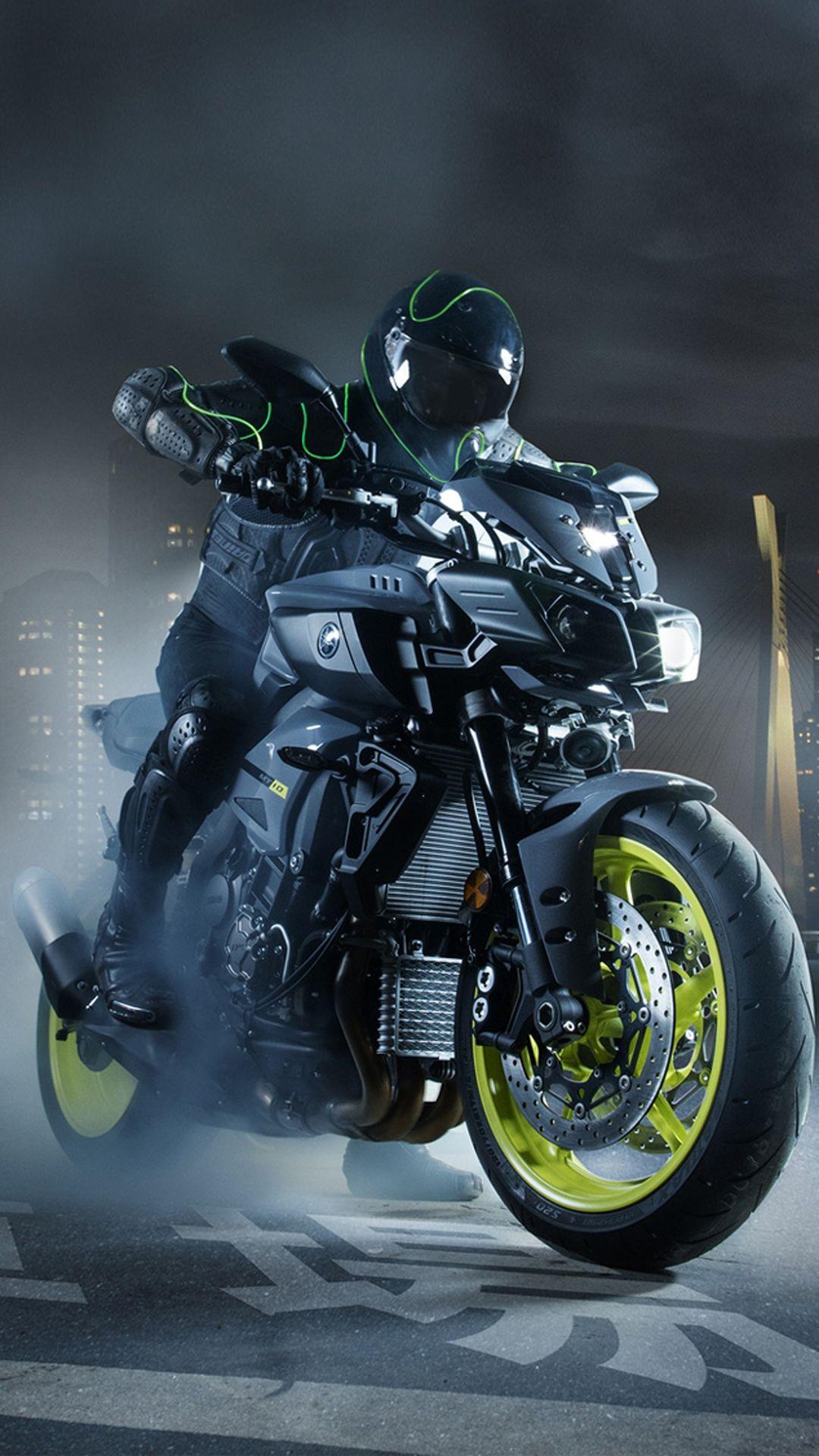 Yamaha MT 10 Bike Mobile HD Wallpaper in 2020 Motorcycle