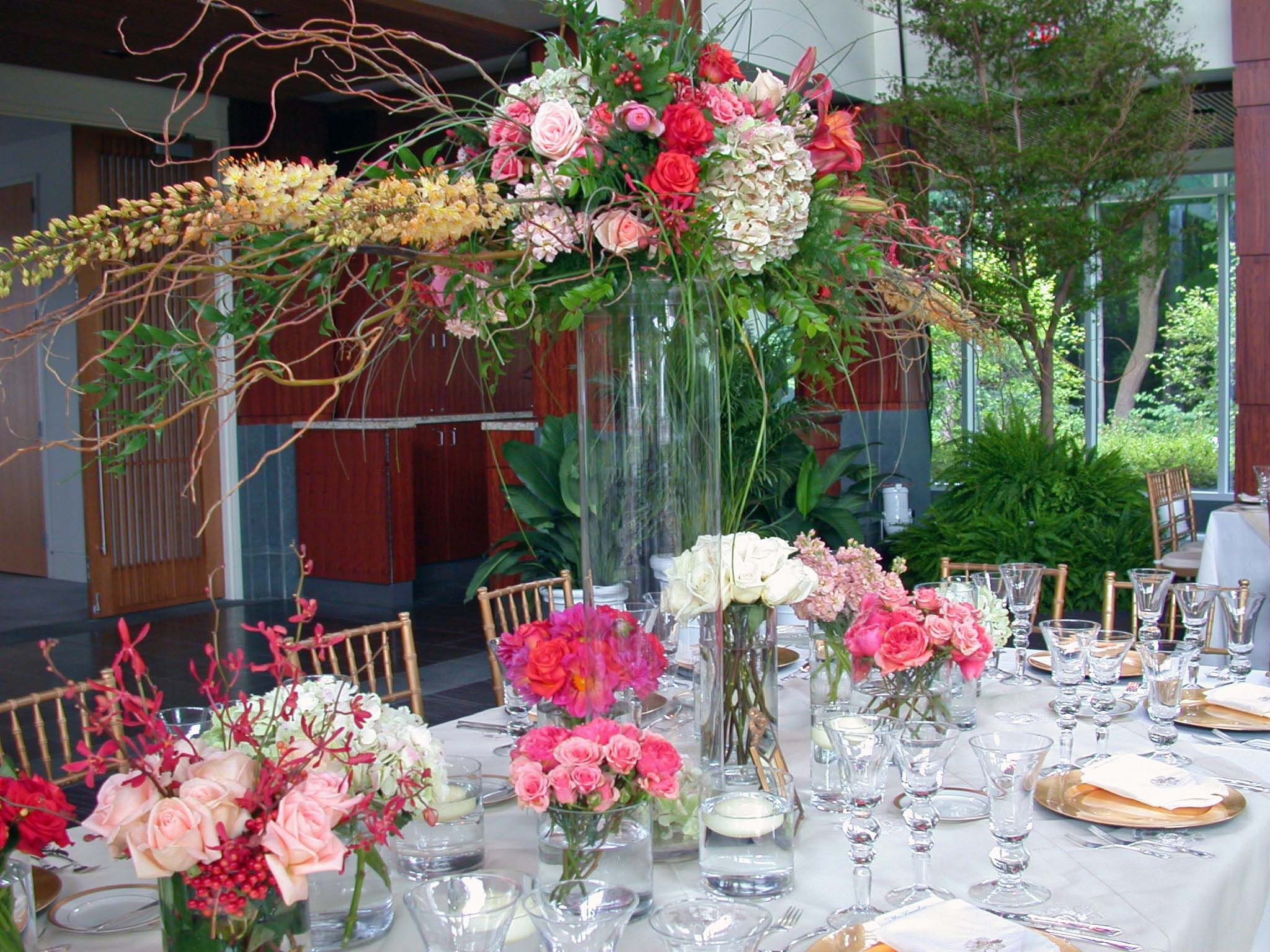 Add height to long reception tables by putting an