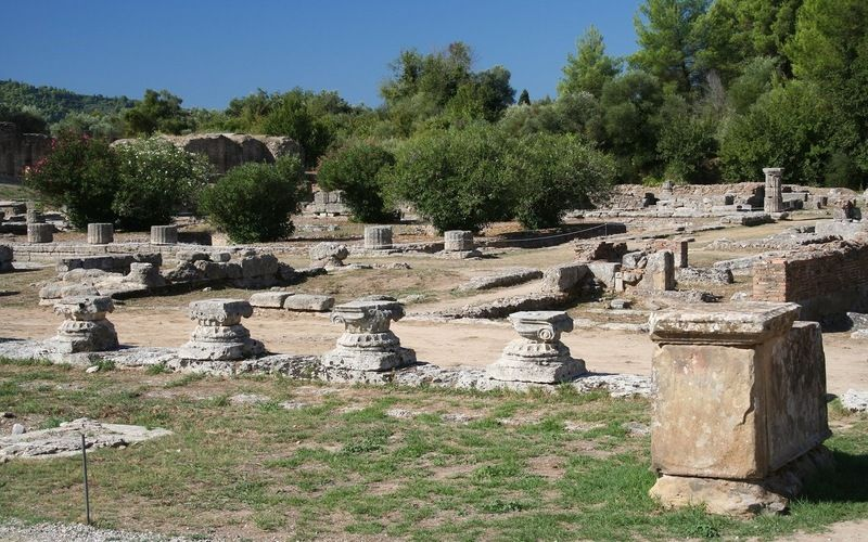 Ancient Olympia, Greece. Pretty exciting to know I've been here :)))
