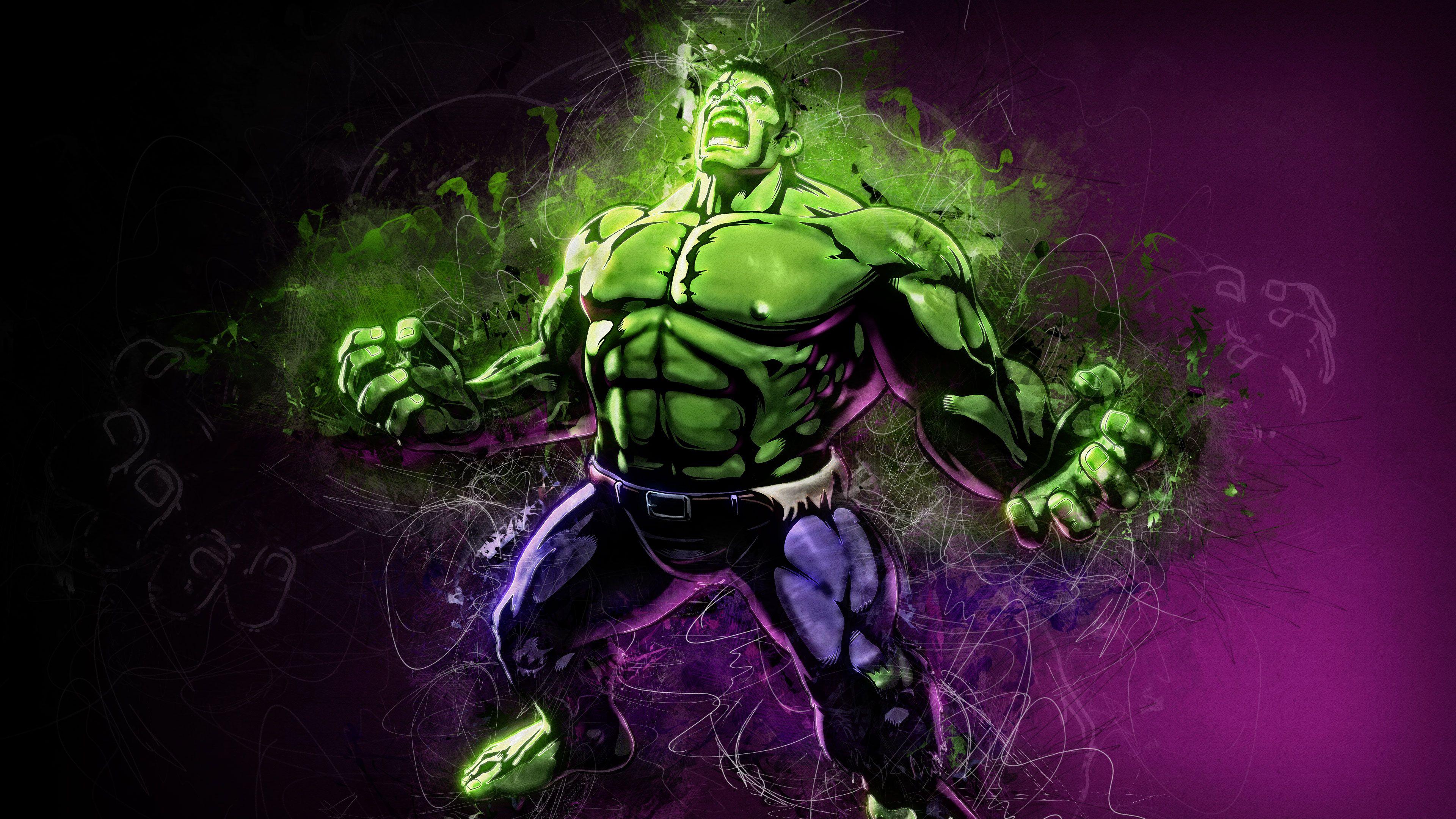 Hulk Artwork 4K HD Hulk artwork, Hulk art, Artwork