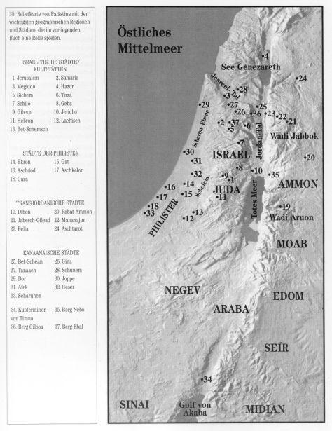 Israel Karte.Karte Israel Juda Ammon Moab Edon Defenders Of The Council