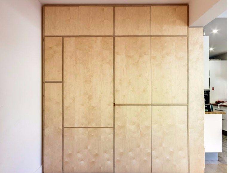 Armadio A Muro In Multistrato Le Mural Malherbe Edition Con