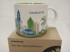Starbucks You Are Here Charlotte North Carolina 14 Oz Mug