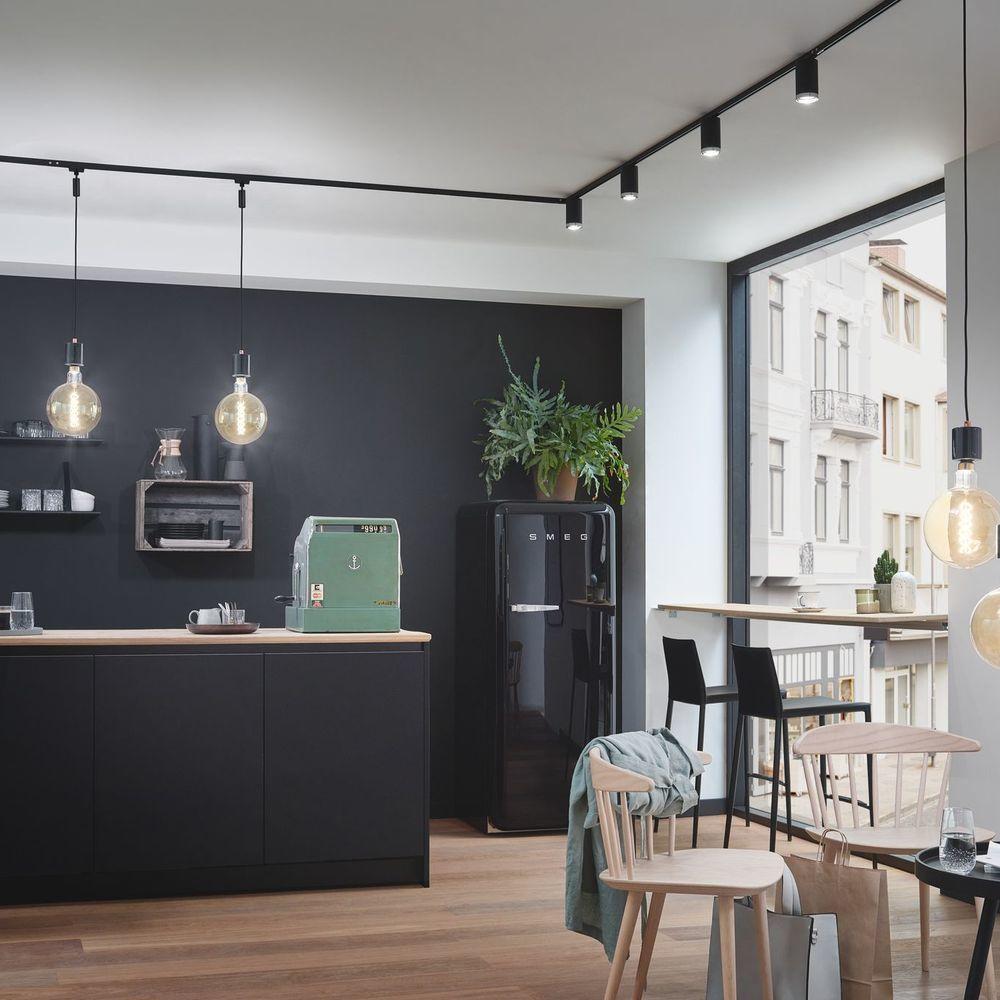 A Schiene Urail In Schwarz Matt 100mm Paulmann 96902 In 2020 Haus Haus Innenarchitektur Lichtschiene
