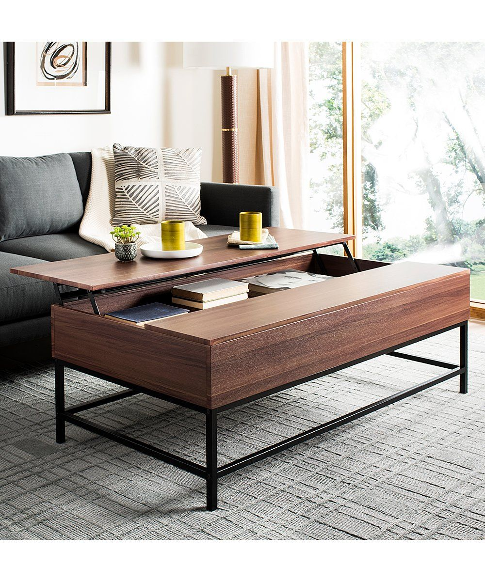 Shape Out The Living Room By Centering It Around The Wood Blend Modern Flair Of This Coffee Table The T Coffee Table Coffee Table With Storage Living Room Diy [ 1201 x 1000 Pixel ]