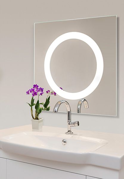 Lighted Mirrors contribute beautiful illumination while helping