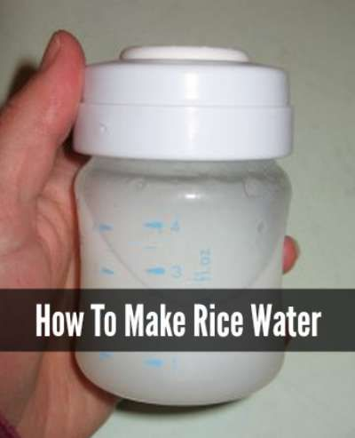 How To Make Rice Water For An Upset Stomach is part of Rice water recipe -