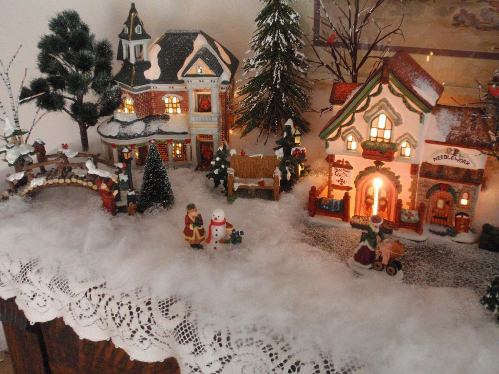 Christmas Village 1 Christmas Village Display Christmas Town Holiday Village Display