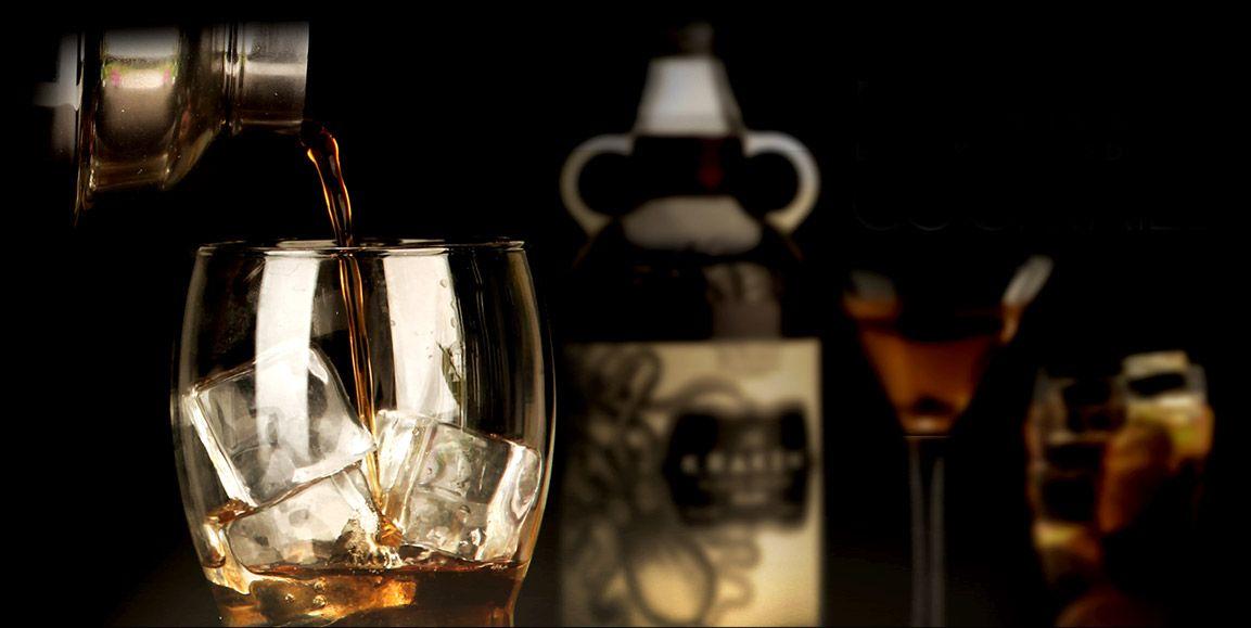 Krakaccino kraken rum ginger beer cocktail kraken