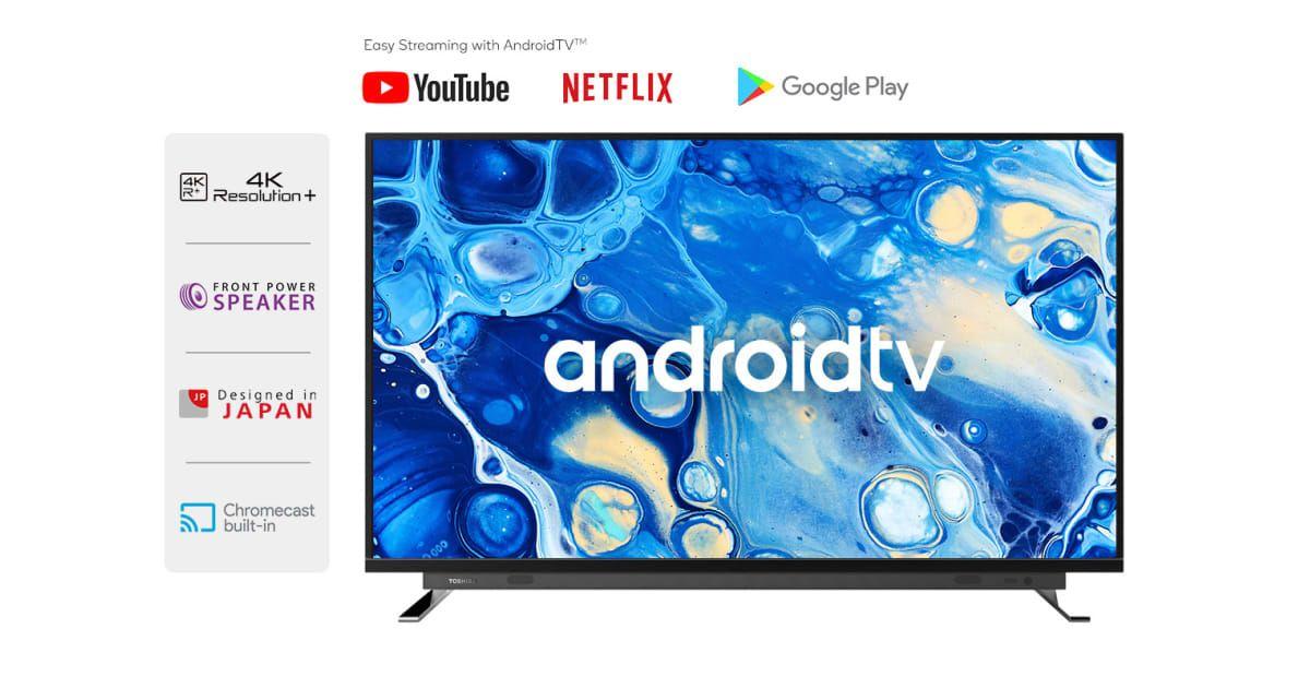 "Toshiba 55"" Smart 4K Android TV™ UHD LED TV LED"