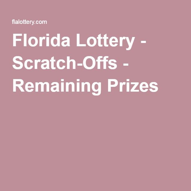 Florida lottery scratch offs remaining prizes print stuff florida lottery scratch offs remaining prizes sciox Image collections