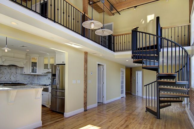 Lofts Aren T Just For Young Professionals In The City Anymore Use These Loft Style Home Ideas To Create A Un Loft Style Homes Home Stairs Design Stairs Design