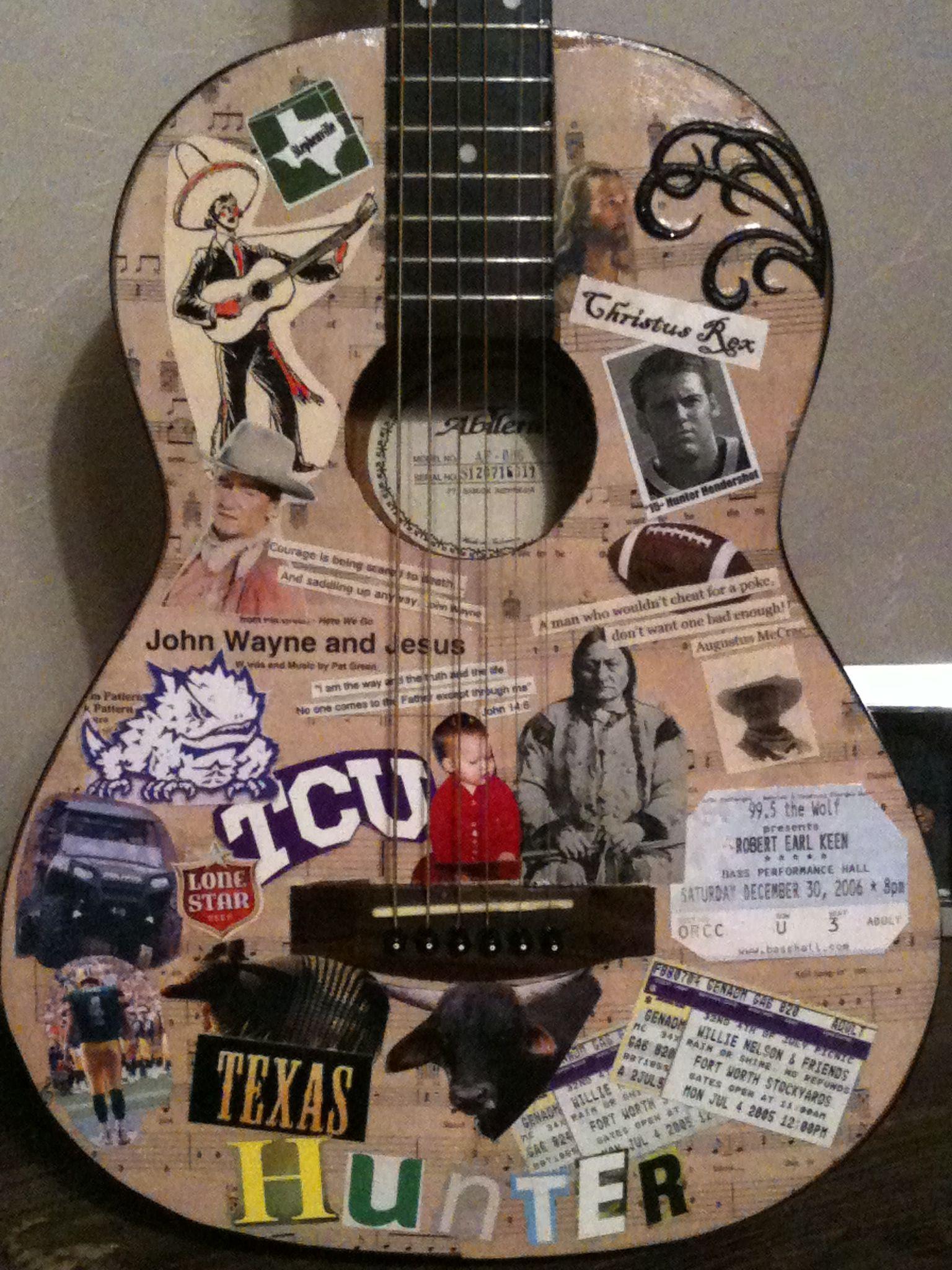 Decoupage guitar crafts pinterest decoupage diy ideas and craft decoupage guitar solutioingenieria Gallery