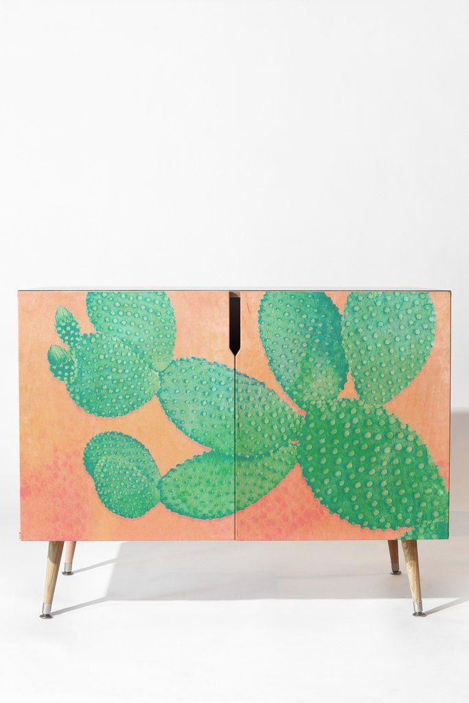 Kangarui Pastel Cactus Credenza is part of Home Accessories Design Creative -