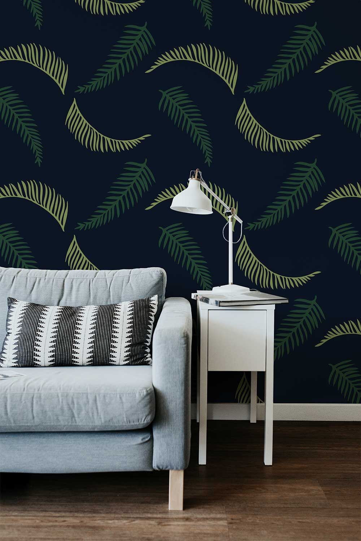 Free Wall Paper Mockup Wallpaper Mockup Room Wallpaper Des