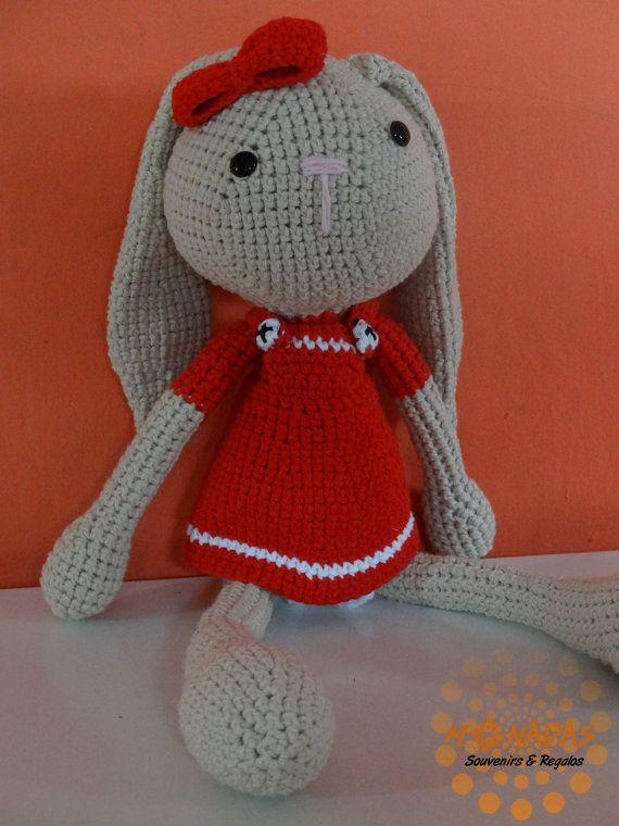 Conejo o coneja amigurumi por MonadasArgentina en Etsy | Crochet ...