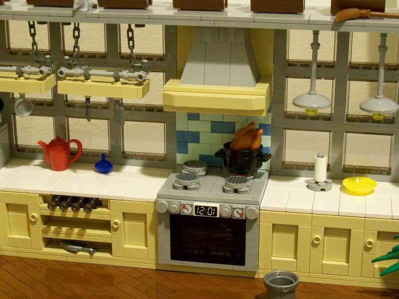 Moc Kitchen Special Lego Themes Eurobricks Forums Lego