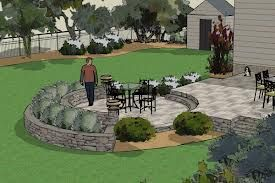 Attractive Beautiful 3D Landscape Designs In NJ