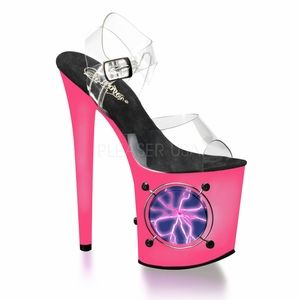 Ankle Strap Sandal * LIGHTNING-808UV by Pleaser, $119.99 - Sexy Shoes, High Heels, Stripper Shoes, Platforms, and Thigh High Boots for Women