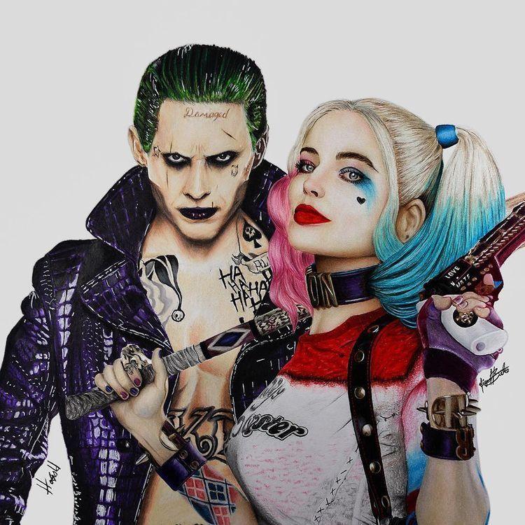 Pin On Harley Quinn Joker Madlove