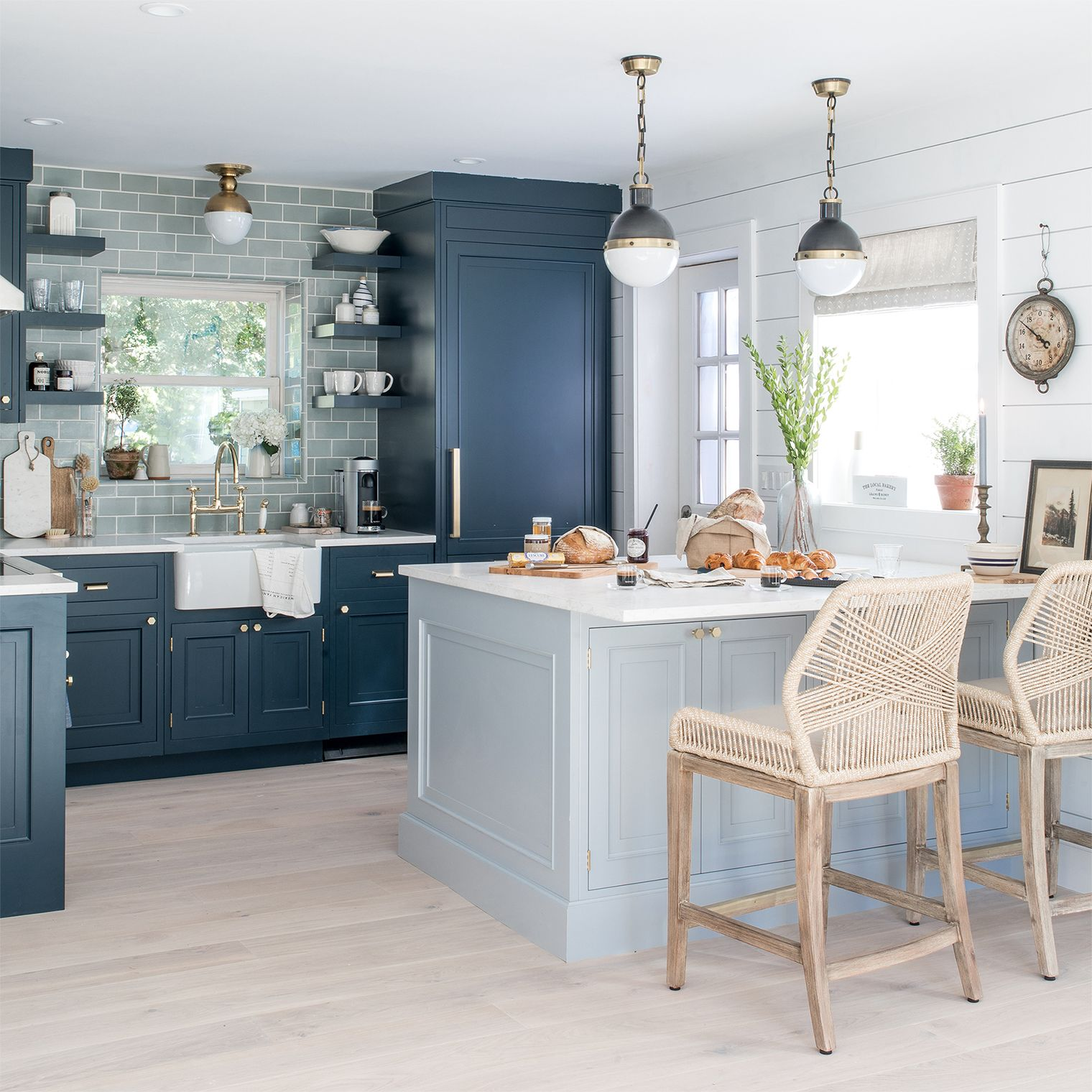 Our Beach House Kitchen: The Reveal | Beach house kitchens ...