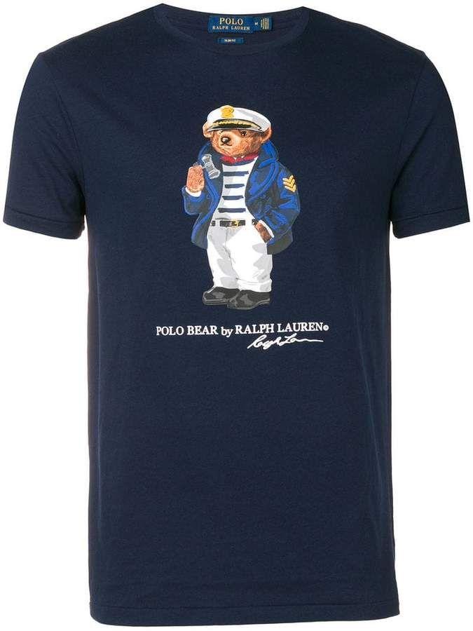 POLO by Ralph Lauren Grey RL Football Graphic T-Shirt~NWT~