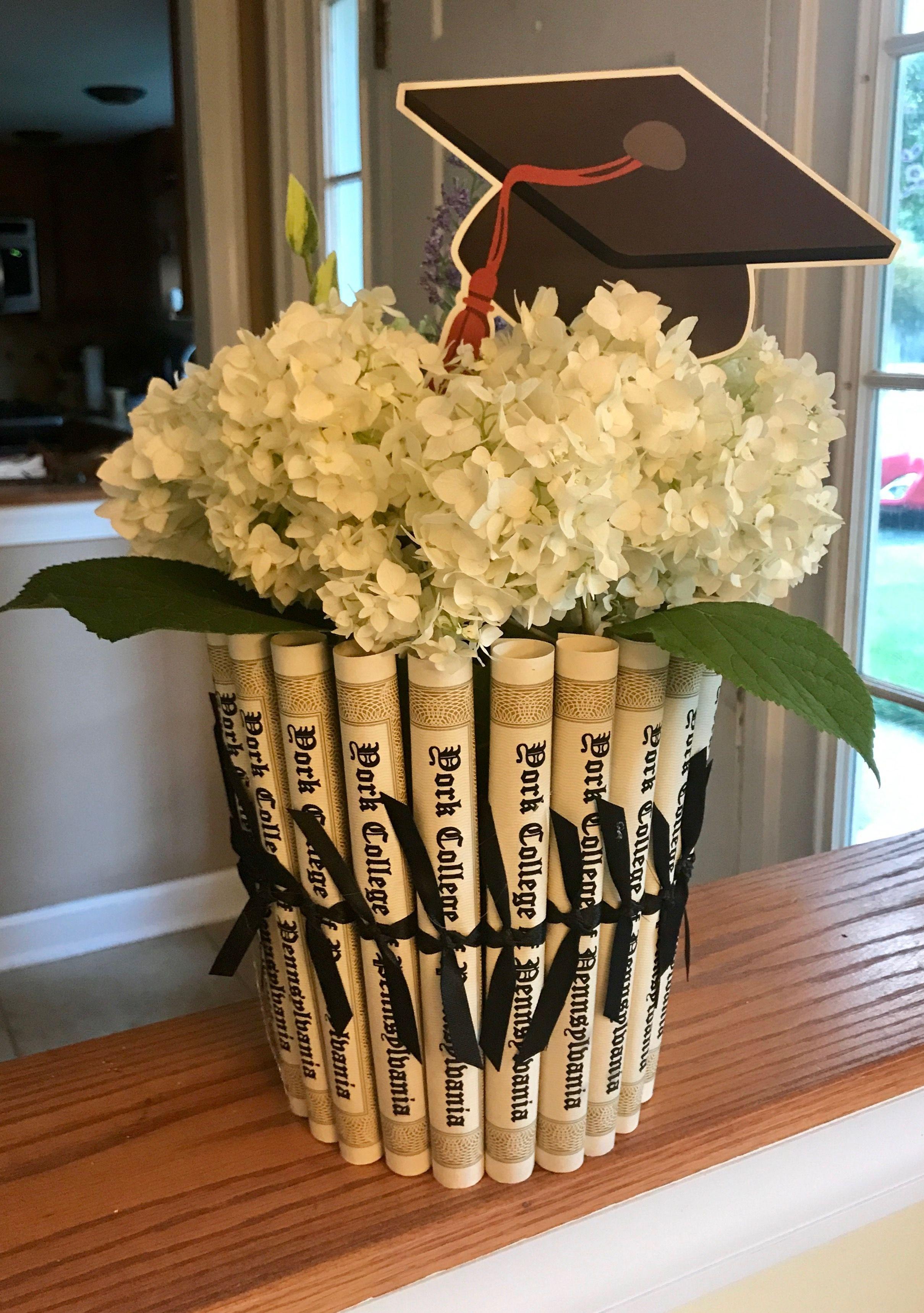 Centerpieces Graduation Styrofoam Cap