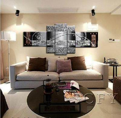 Modern Abstract Canvas Oil Painting-Large art (no Frame)