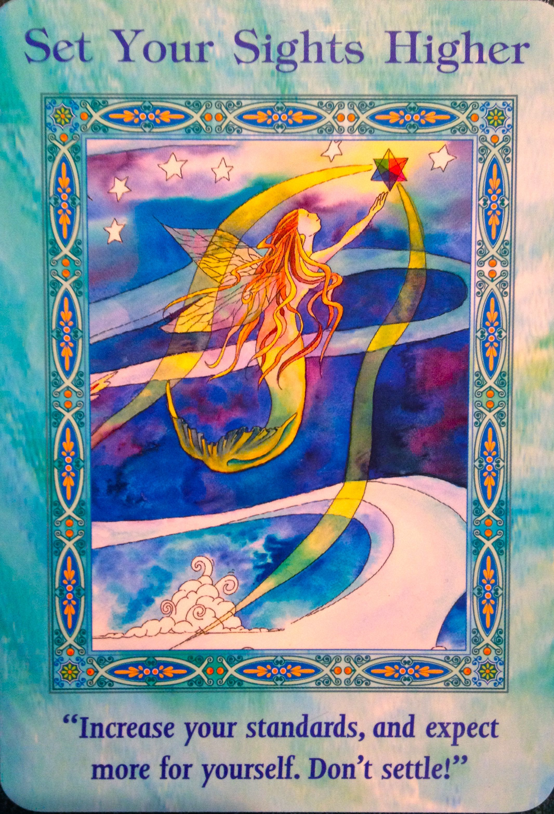 and cards oracle mermaids dolphins Magical