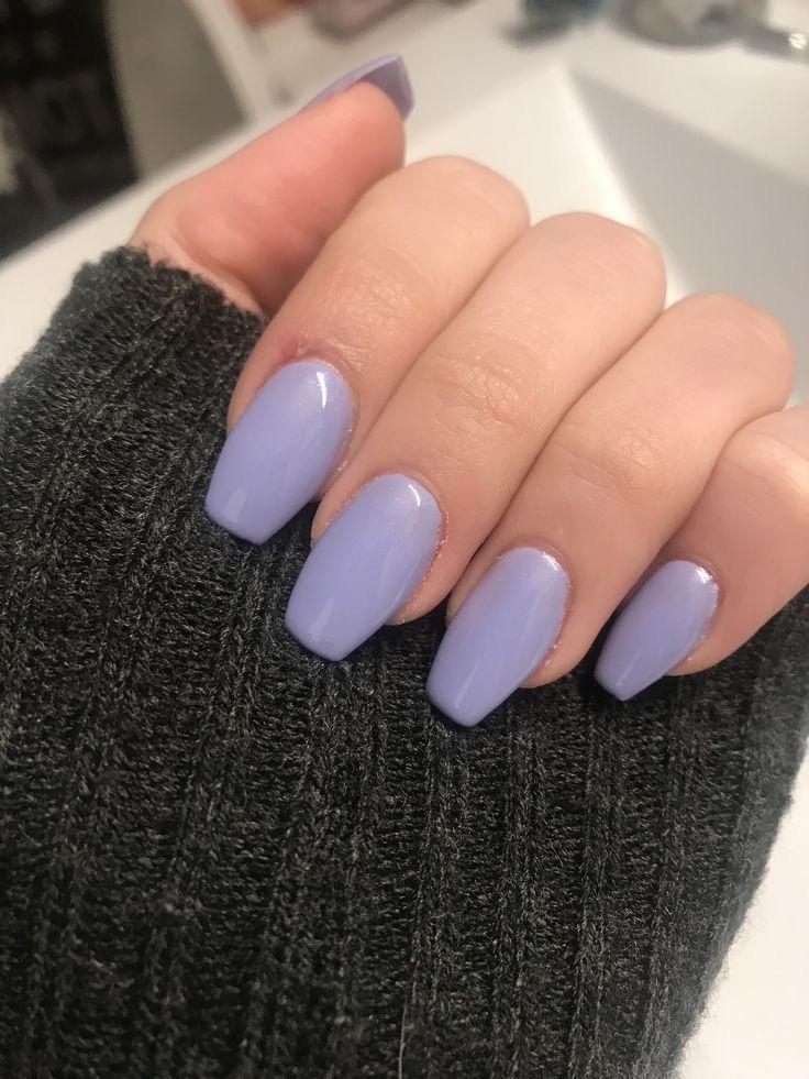 Pin By Tanecia Perea On Nail Designs Short Acrylic Nails Pretty Acrylic Nails Purple Nails