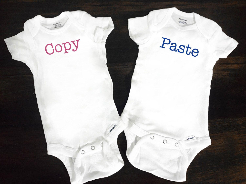 27f5c00575dc4 Funny Baby T Shirts Twins